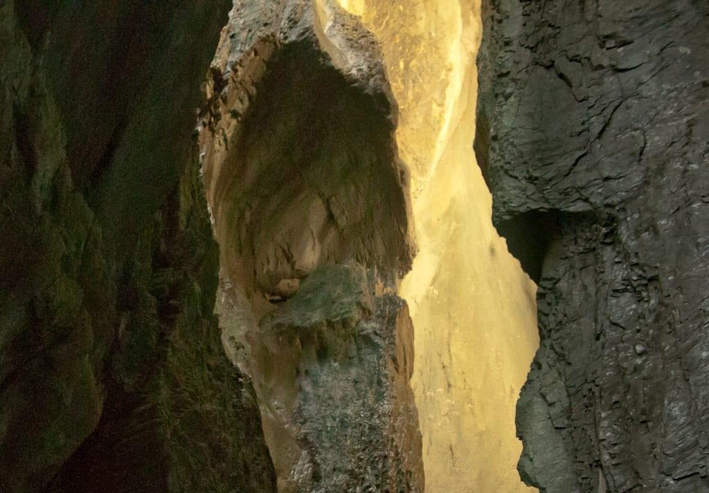 Inside a Swiss Mountain at Rosenlaui